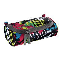 Coocazoo Schlamperetui RollerCoaler - CHECKERED BOLTS