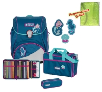 Scout Schulranzen Alpha - MERMAID - Set 5-tlg.