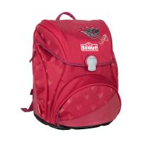 Scout Schulranzen Alpha Premium - RED PRINCESS - Set 5-tlg.