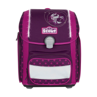 Scout Schulranzen Genius Safety Light - MOONLIGHT PONY - Set 5-tlg.