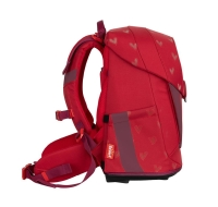 Scout Schulranzen Sunny II Premium - RED PRINCESS - Set 5-tlg.