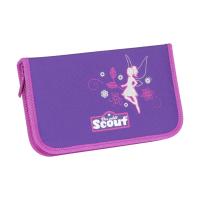 Scout Schulranzen Sunny II Safety Light - FEENWALD - Set 5-tlg.