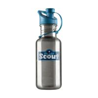 Scout - Edelstahl-Trinkflasche - BLAU
