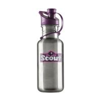 Scout - Edelstahl-Trinkflasche - VIOLETT