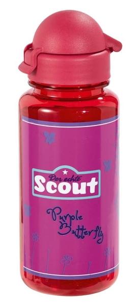 Scout Trinkflasche - PURPLE BUTTERFLY
