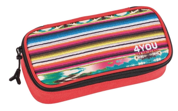 4You Pencil Case - 274 - ETHNO ROT