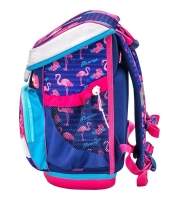 Belmil Mini Fit Schulranzen Set 4-tlg. - FLAMINGO