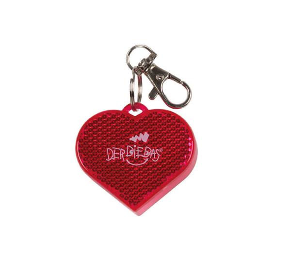 DerDieDas Anhänger Blinky - PINK HEART