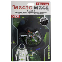 Step by Step Magic Mags Flash - 1-teilig - SPACE SHIP