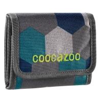 Coocazoo Geldbeutel CashDash - BLUE GEOMETRIC MELANGE