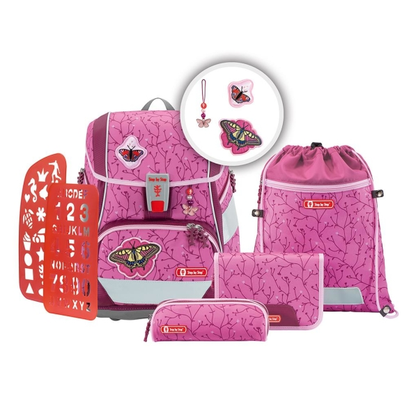 Step by Step 2in1 Plus Set, 6-teilig - BUTTERFLY LINA