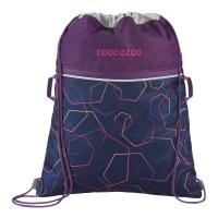 Coocazoo Sportbeutel RocketPocket - LASERBEAM PLUM