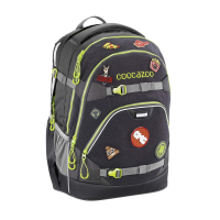 Coocazoo Rucksack ScaleRale - PATCHY Black