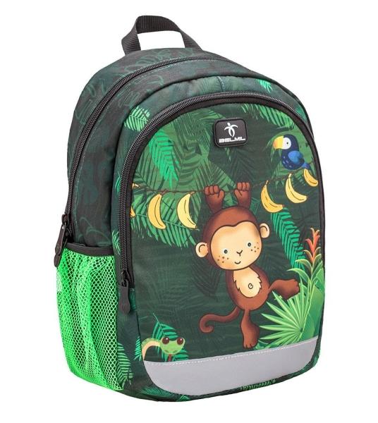 Belmil Kindergarten Rucksack Kiddy Plus - JUNGLE