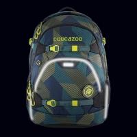 Coocazoo Rucksack Set 2-tlg. ScaleRale - POLYGON BRICKS