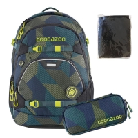 Coocazoo Rucksack Set 3-tlg. ScaleRale - POLYGON BRICKS