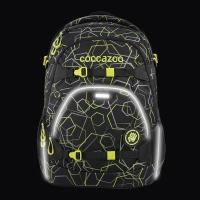 Coocazoo Rucksack Set 2-tlg. ScaleRale - LASERBEAM BLACK