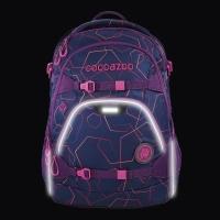 Coocazoo Rucksack Set 2-tlg. ScaleRale - LASERBEAM PLUM