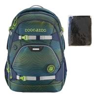 Coocazoo Rucksack Set 2-tlg. ScaleRale - SONICLIGHTS GREEN