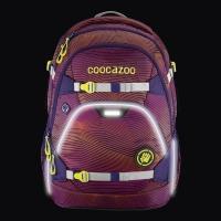 Coocazoo Rucksack Set 2-tlg. ScaleRale - SONICLIGHTS PURPLE