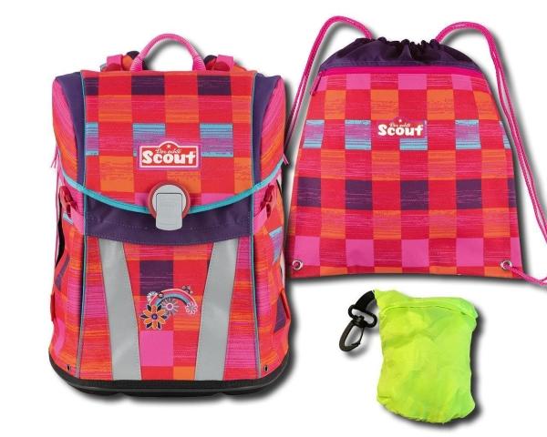 Scout Schulranzen Sunny - PINK RAINBOW - Set 3-tlg. 3