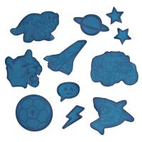 Step by Step Reflektierendes Sticker-Set - BLUE
