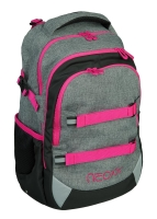NEOXX Active Schulrucksack Pink and Famous