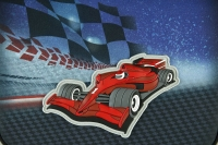 Scooli EasyFit Schulranzen-Set, 5-teilig Speed Racer