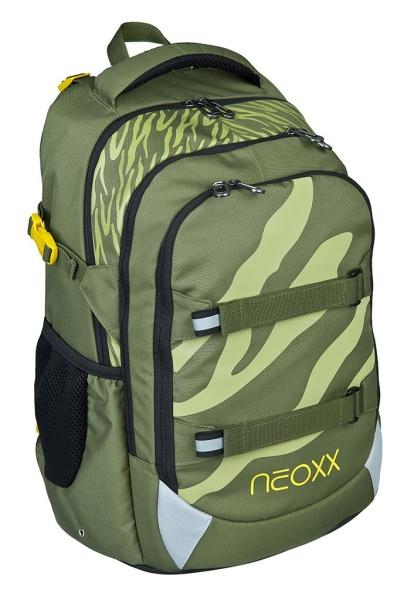 NEOXX Active Schulrucksack Ready for green