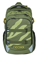NEOXX Active Schulrucksack Ready for green