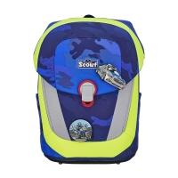 Scout Schulranzen Sunny II - BLUE POLICE - Set 5-tlg.
