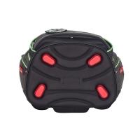 Scout Schulranzen Alpha Superflash - BLACK SPIDER - Set 5-tlg.